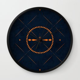 Dark Mistery Wall Clock
