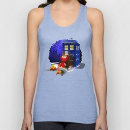 10th Doctor Relax before Christmas Unisex Tank Top