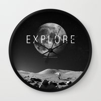explore Wall Clocks featuring EXPLORE by openact