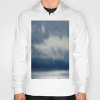 aperture Hoodies featuring The Sky Resting on Water by Jane Lacey Smith