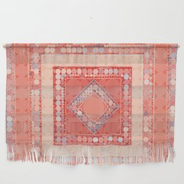 Multicolor Abstract Geometric Design Wall Hanging