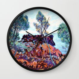 Agay - The Red Rocks - Digital Remastered Edition Wall Clock