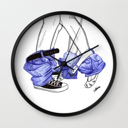 Bad habits Wall Clock