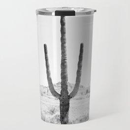 Cactus BW Travel Mug