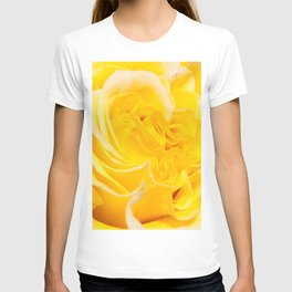A Touch of Yellow #Rose #1 #art #society6 T-shirt