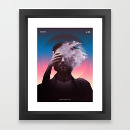 Pressure Framed Art Print