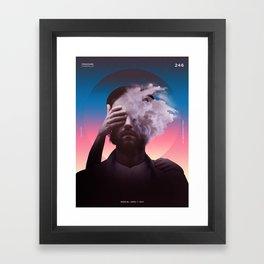 Pressure Framed Art Print