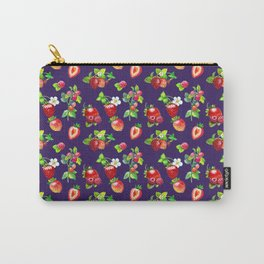 BERRIES-N-BLOOMS Carry-All Pouch