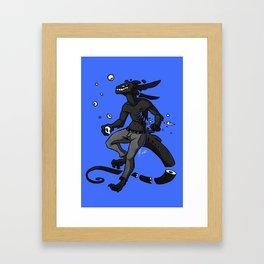 Monstrosity Framed Art Print