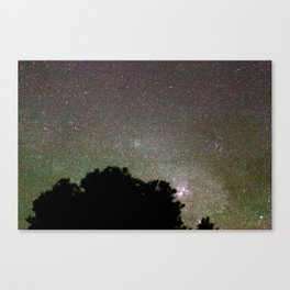 Silence in awe Canvas Print