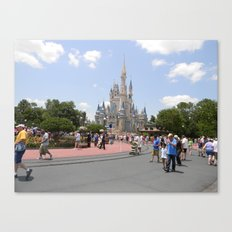 Disney Land. Canvas Print