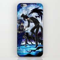 kuroshitsuji iPhone & iPod Skins featuring Illusion by Surfinpika