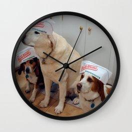DoughnutDogs Wall Clock