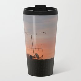 Out of my window Metal Travel Mug