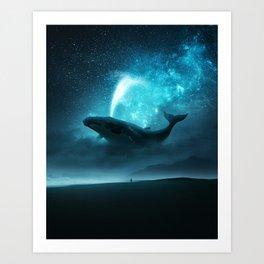 Birth of The Milky Way Art Print