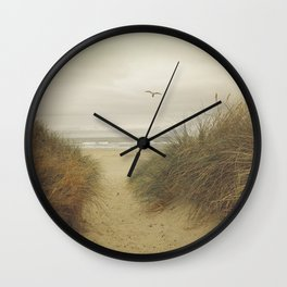 Rockaway Beach Wall Clock