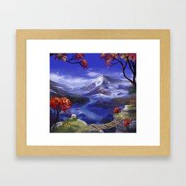 Mountains 're Nice Framed Art Print