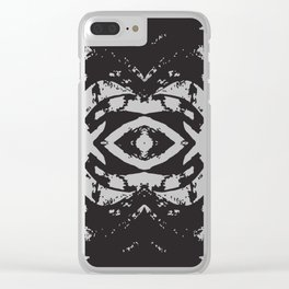 Ink blot Clear iPhone Case