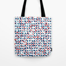 Abstract Beach Floral Tote Bag