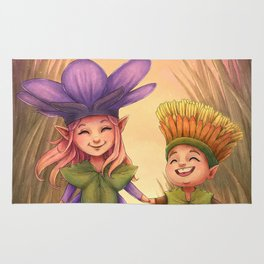 Children of Spring Rug