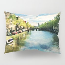 Amsterdam Waterways Pillow Sham