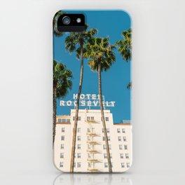 Hollywood Hotel II iPhone Case