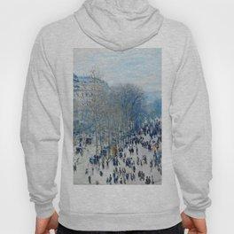 Claude Monet - Boulevard Des Capucines Hoody