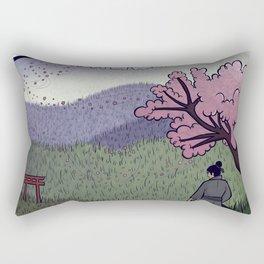 A Gentle Breeze Rectangular Pillow
