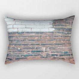 Painted Bricks Rectangular Pillow