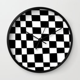 Checked Out Wall Clock