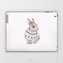 sweater rabbit Laptop & iPad Skin