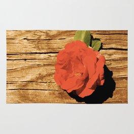Rustic Rose Rug