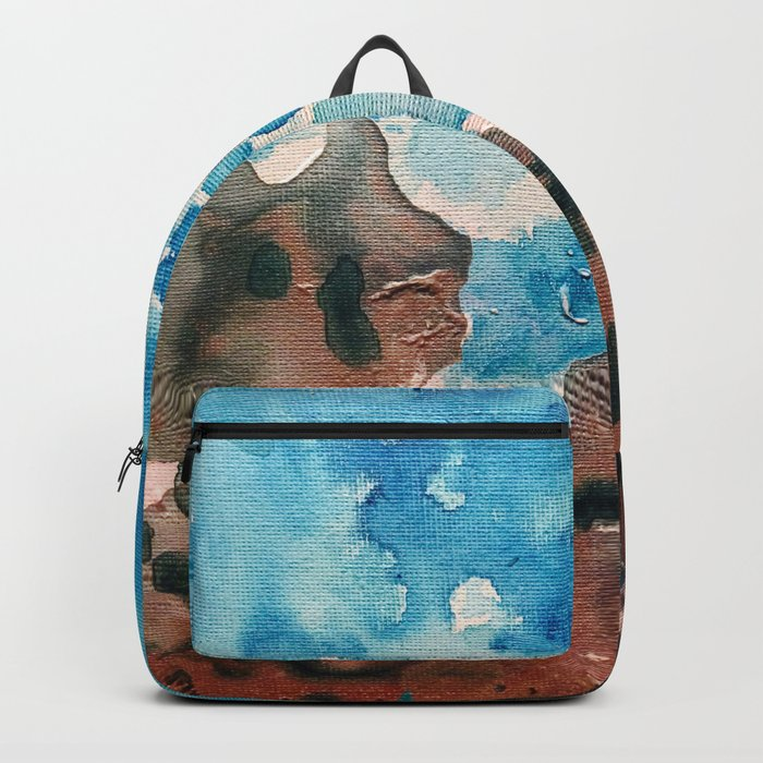 Water and Sand is Where I Want to Be Backpack