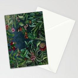 Midnight rainforest I Stationery Cards