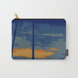 Sunrise Powerlines Carry-All Pouch