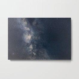 Milky Way galaxy beautiful Night Sky Metal Print
