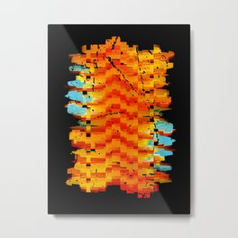 Abstract Composition #2 Metal Print