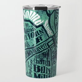 All in one place Travel Mug