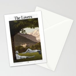 The Lovers Stationery Cards