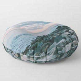 views Floor Pillow