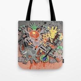 fox trot tribe Tote Bag