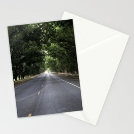 A nice summer evening drive Stationery Cards