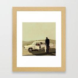 The Badness Framed Art Print