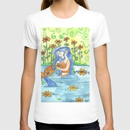 Sunflower Mermaid T-shirt