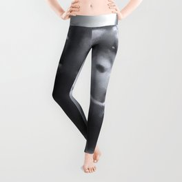 Animals and Art - young Chimp Leggings
