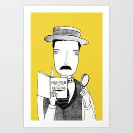 Sherlock Jr. Art Print