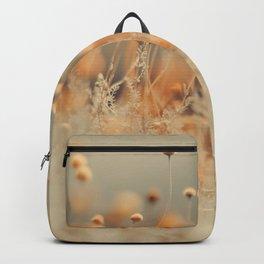 Mustard Yellow Flowers Backpack