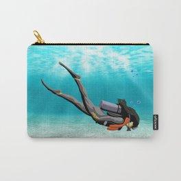 Female S.C.U.B.A. Diver Carry-All Pouch