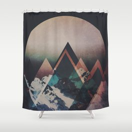 Fractions B19 Shower Curtain