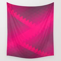 neon Wall Tapestries featuring Neon by Teagan Casey